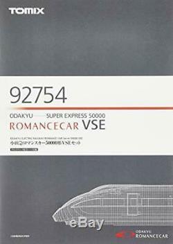 TOMIX N gauge romancecar 50000 form VSE set 92,754 model railroad train