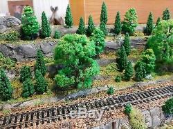Train Model Diorama 00 Gauge Handmade