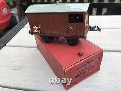 Vintage Hornby 0 Gauge Model Passenger Train Set And Accessories