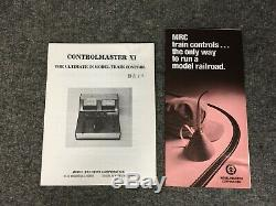 Vintage MRC Controlmaster XI Transformer For N & HO Gauge Model Trains NIB