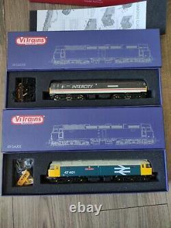 Vitrains Class 47 Intercity & Class 47 Large Logo Twin Set Oo Gauge Model Trains