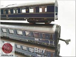 Z 1220 Spur Märklin mini-club Personenwagen Eisenbahn Blauer Enzian Set DB 5x